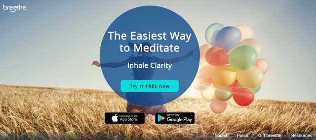 omg I can meditate app screenshot