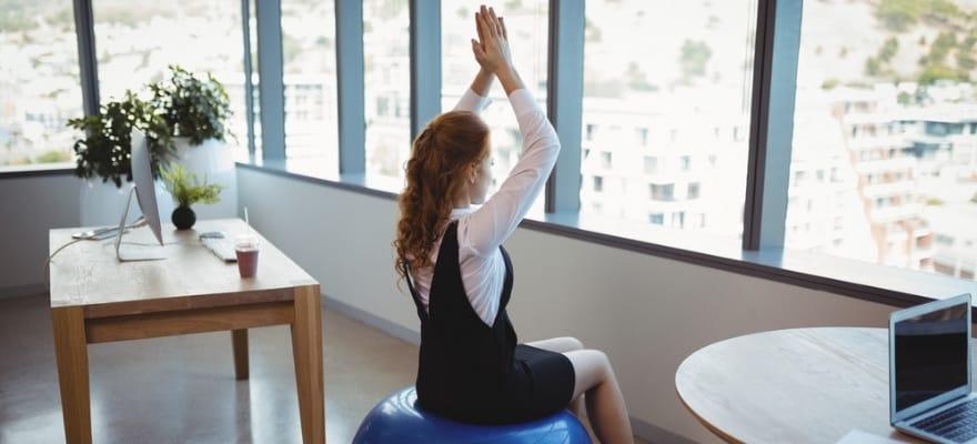 best yoga ball for office