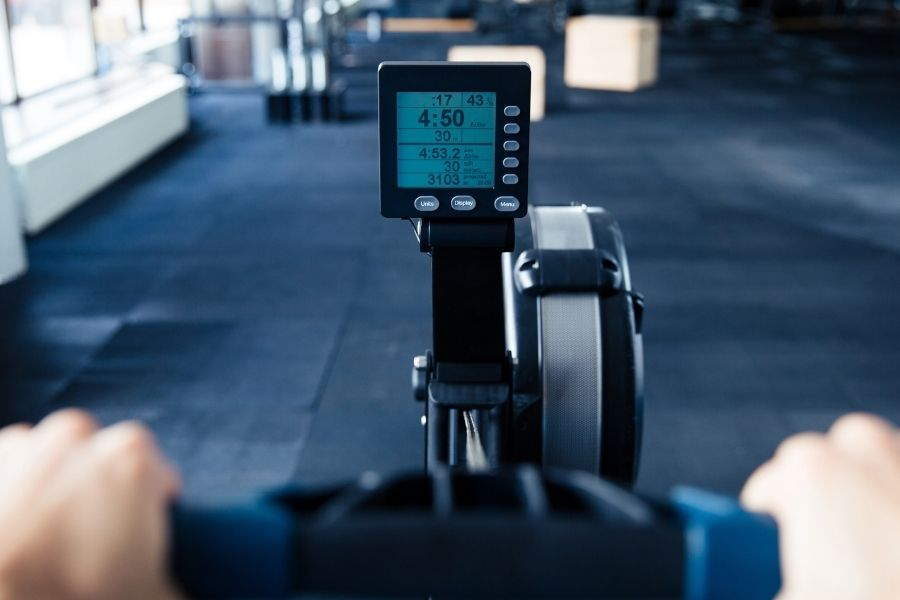 rowing machine LCD monitor