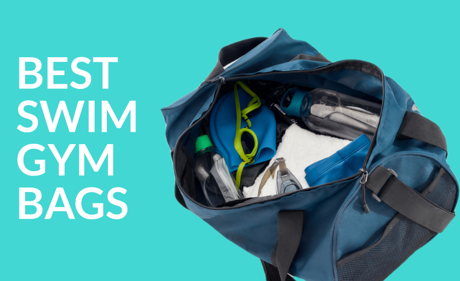 best swim gym bags - gym bag with swim gear inside